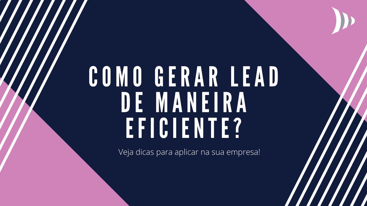 Como gerar lead?