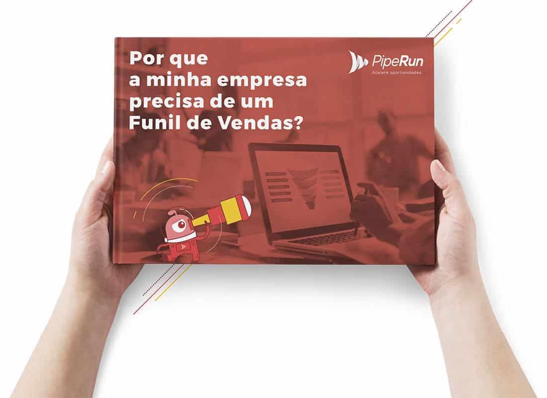 Ebook Funil de Vendas Sistema de CRM de Vendas PipeRun