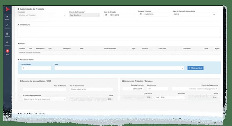 Gerador de Propostas Comerciais em PDF | Sistema CRM de Vendas PipeRun