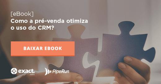 Como a pré-venda otimiza o uso do CRM?