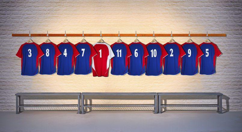 Atividades: um time de futebol é como um time de vendas