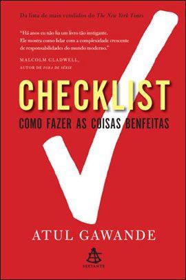 Livros de empreendedorismo: Checklist