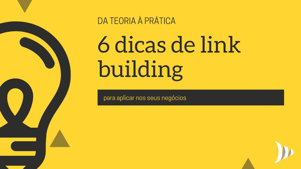 Dicas de link building