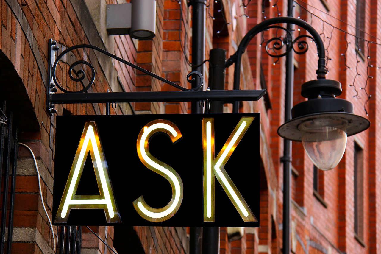 Taxa de conversão de vendas: pergunte mais