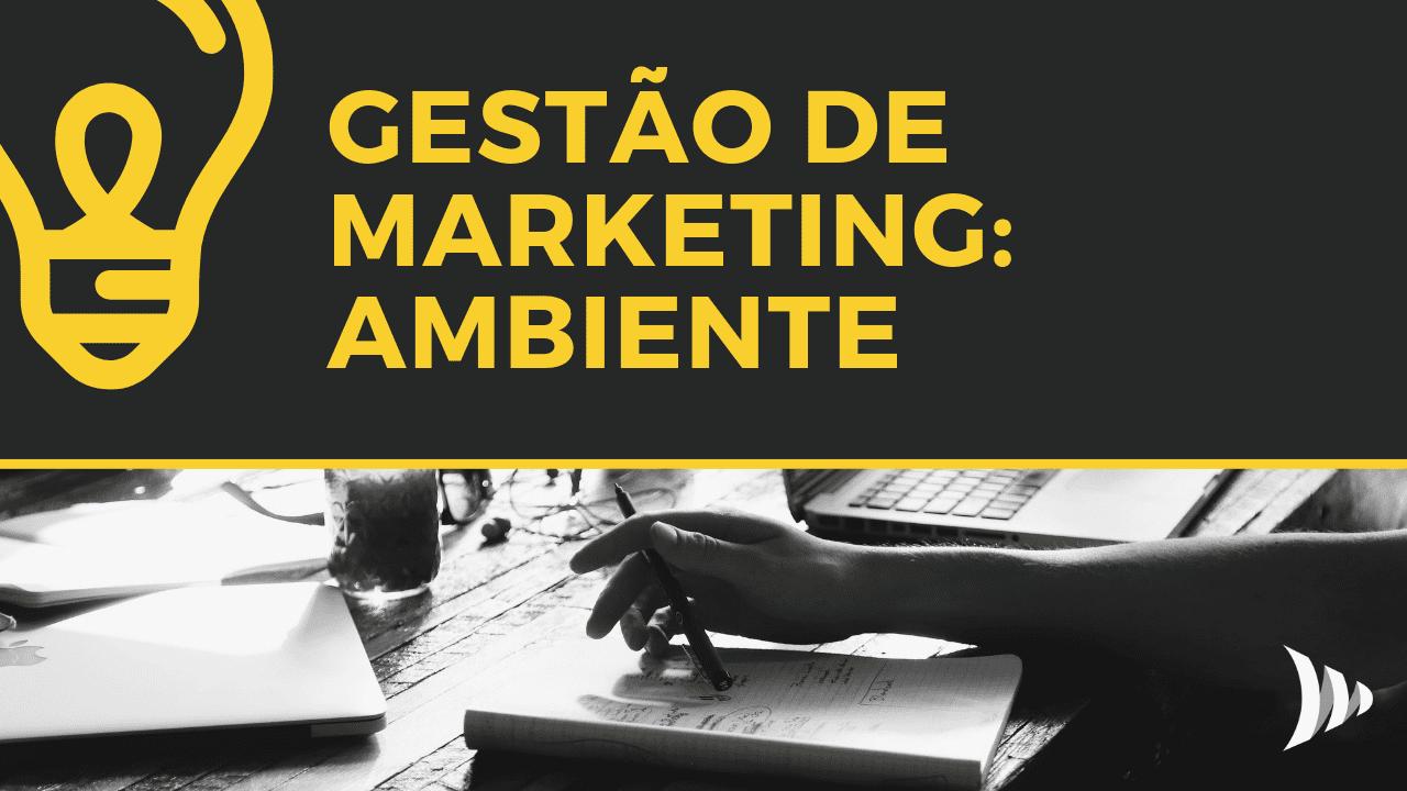 Gestão de marketing: ambiente