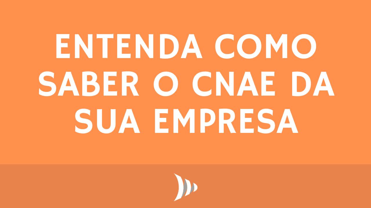 CNAE (Classificação Nacional de Atividades Econômicas)