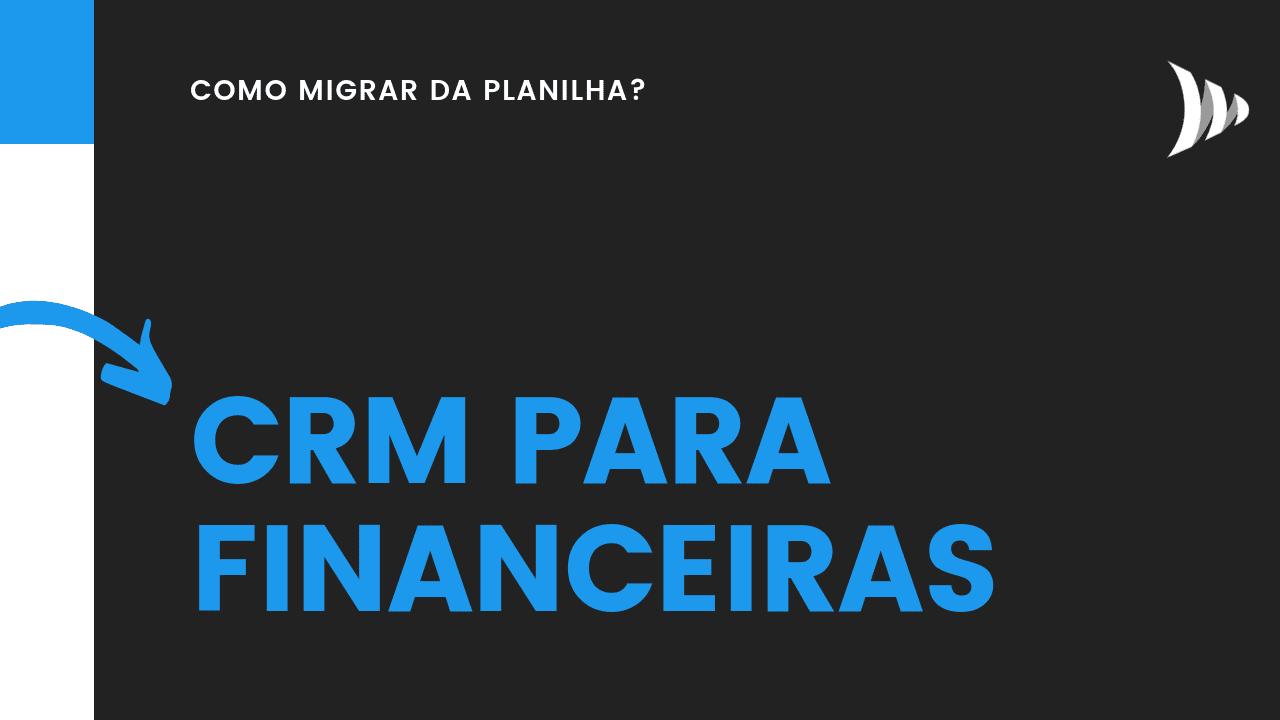 CRM para financeiras