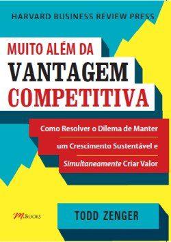Muito Além da Vantagem Competitiva: livros de vendas