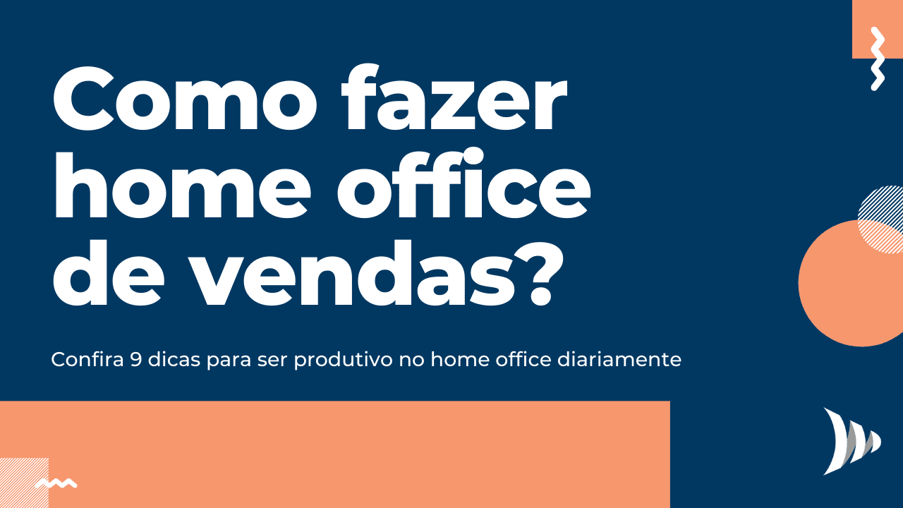 Home office de vendas