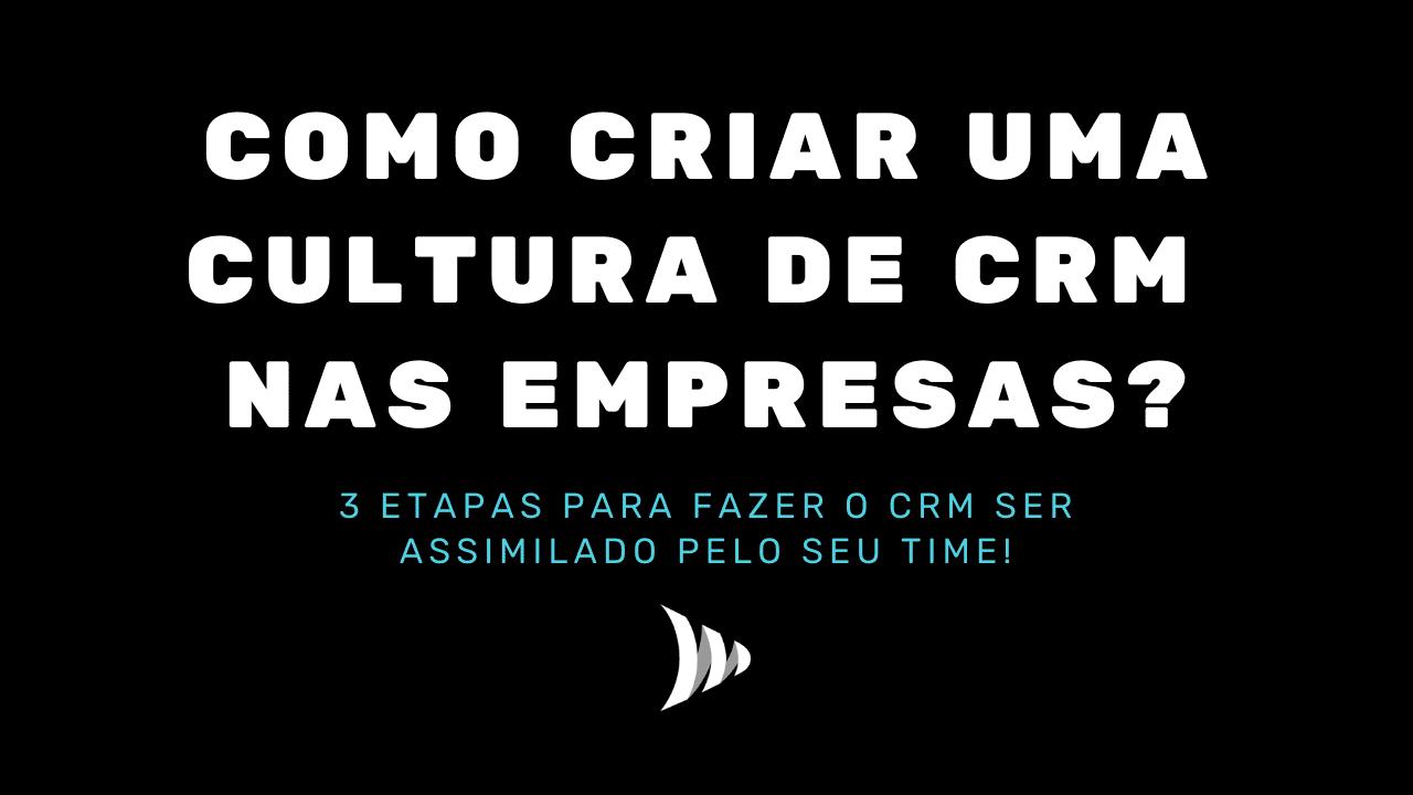 Cultura de CRM