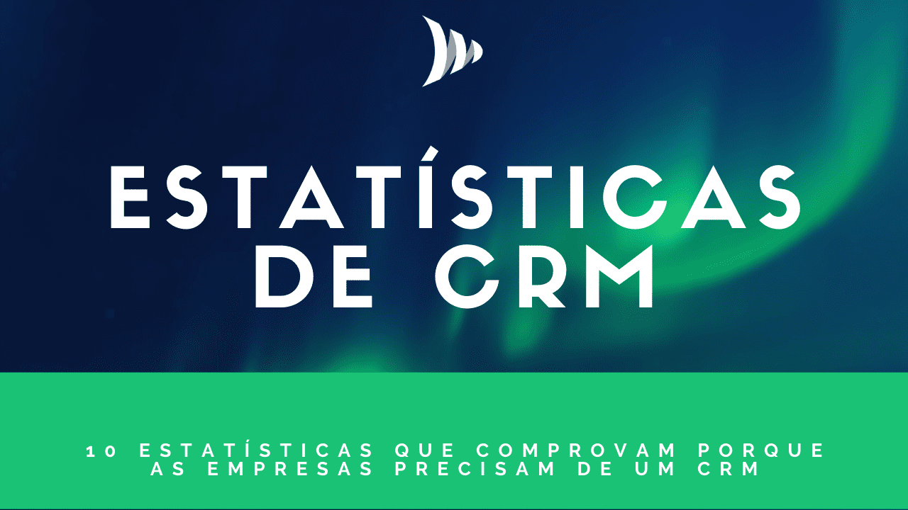Estatísticas de CRM de vendas