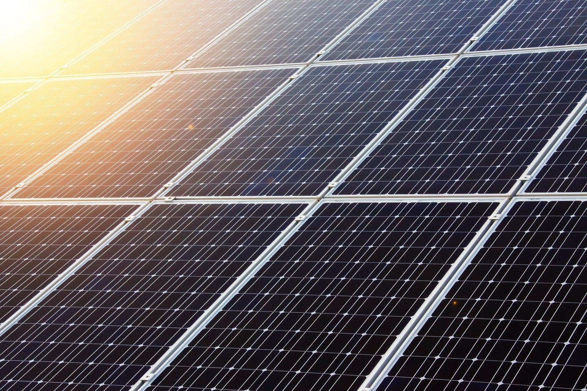 Estrutura de vendas de energia solar