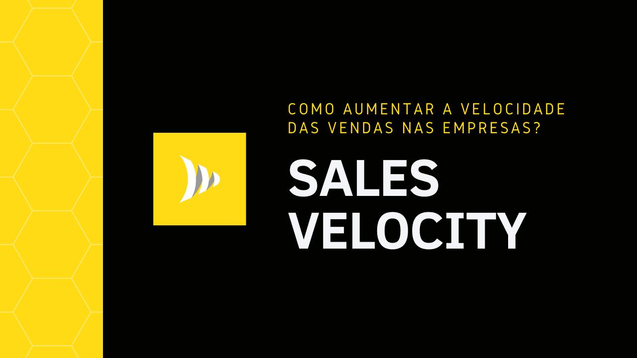 Sales Velocity: velocidade de vendas