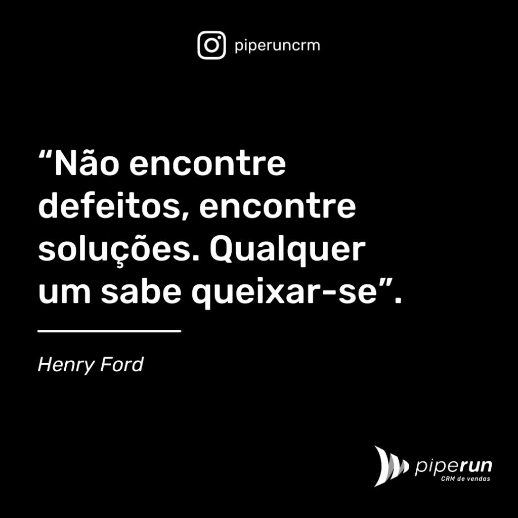 Frases motivacional venda: Henry Ford