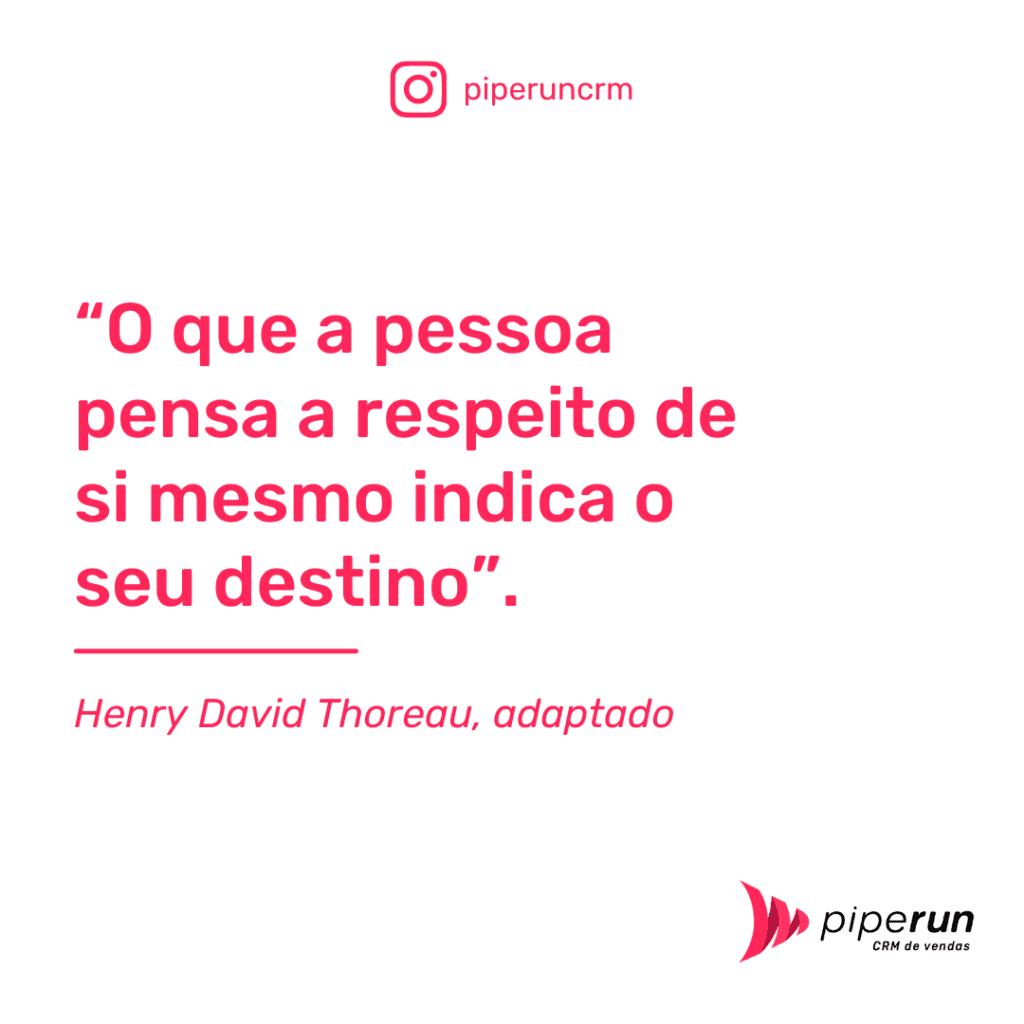 Frases para motivar vendedores: Henry David Thoreau