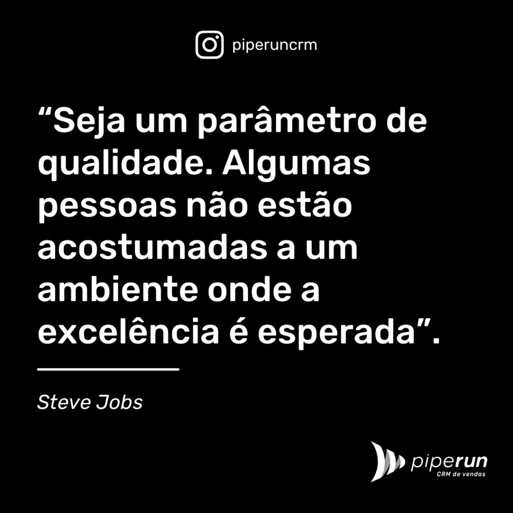 Frase para motivar vendedor: Steve Jobs