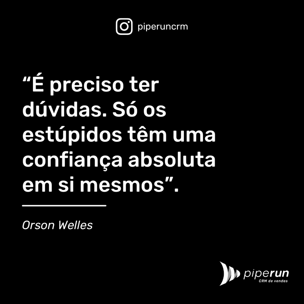 Frases motivacionais: Orson Welles
