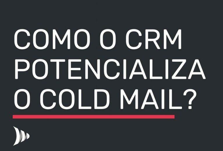 CRM de Vendas Taxa de Resposta Cold Mail