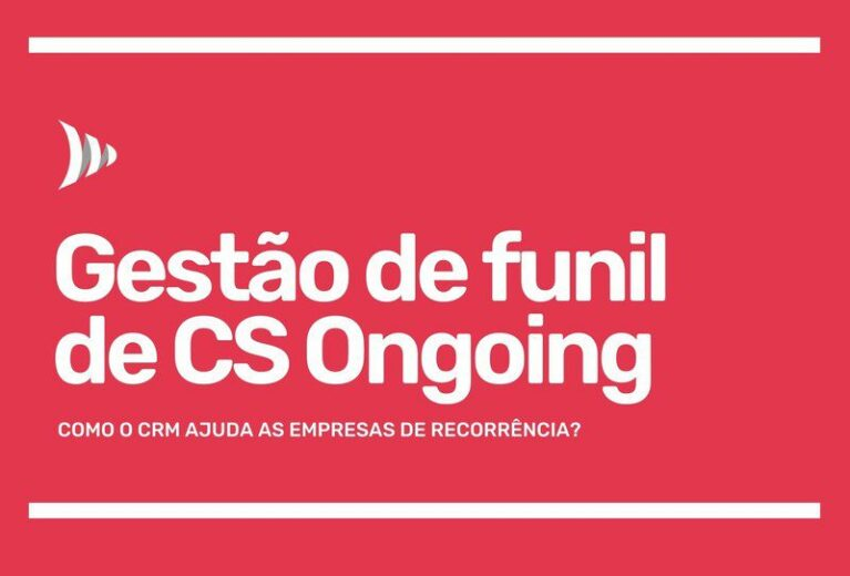 CRM gestao do funil customer success ongoing