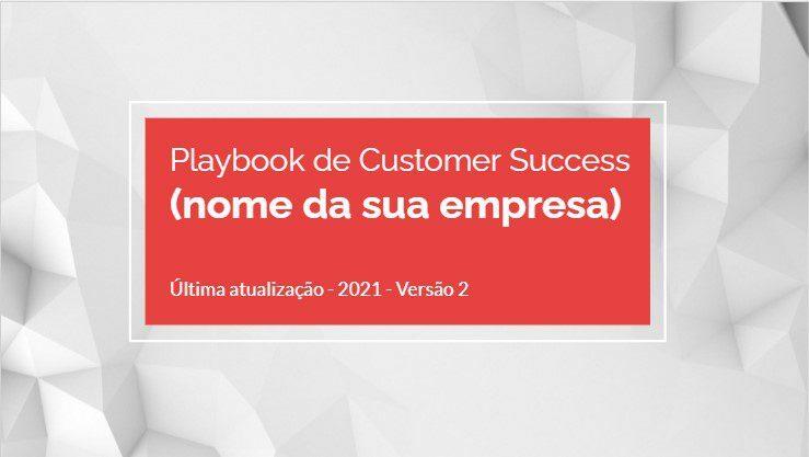 Playbook de Customer Sucess